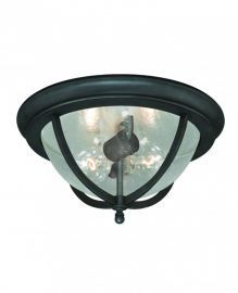 "Corsica 13"" Outdoor Ceiling Light Oil Rubbed Bronze"