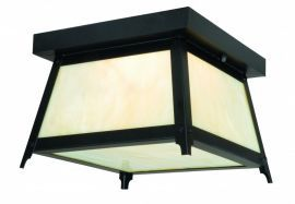 "Prairieview 9"" Outdoor Ceiling Light Oil Rubbed Bronze"