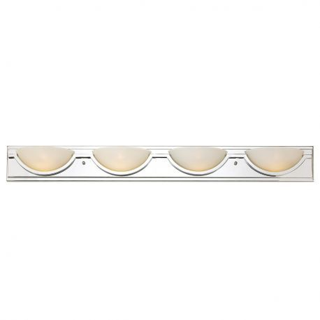 20224 PC 4-Light Bathroom Light, Polished Chrome Finish