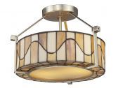 Th12416 Sandfield Semi Flush Mount