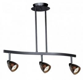 3L Spot Light Pendant Dark Bronze Dark Umbra Glass