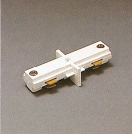TR129 WH Track One-Circuit Accessories 1- circuit mini Joiner, White