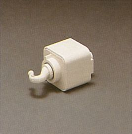 TR140 WH Track One-Circuit Accessories Line voltage pendant adaptor, White