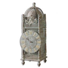 06417 Yaxha Aged Table Clock