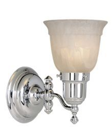 1L Swing Arm Wall Light Chrome