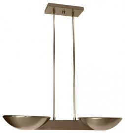 Pascal Halogen Ceiling Mount Brushed Nickel