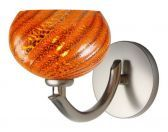 Wall Sconce Nautilus Lava Satin Nickel LED G4 JC 2W