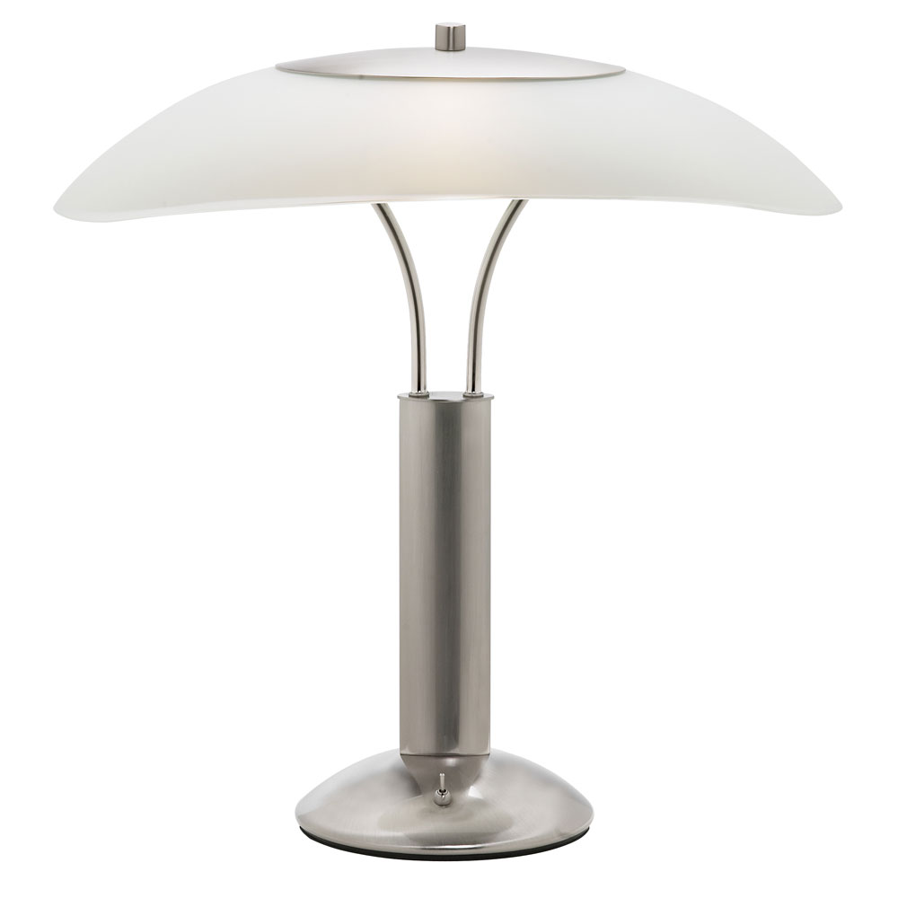 Table Lamp Frosted White Gl Shade